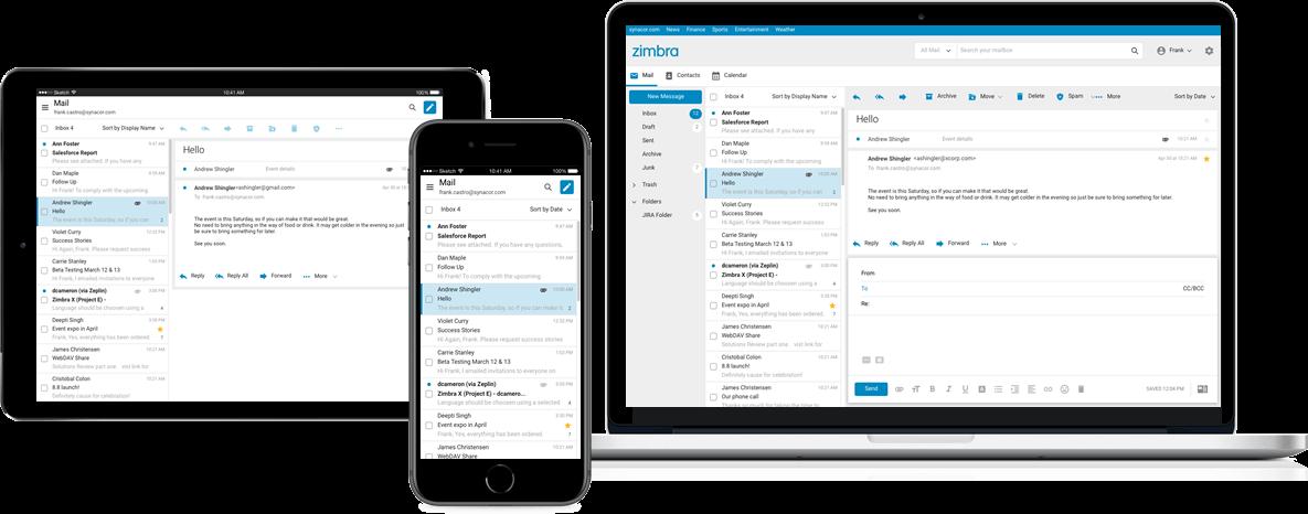 Cloudmatika Zimbra Email & Collaboration