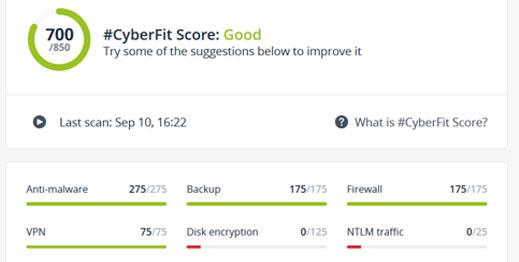CyberFit Score
